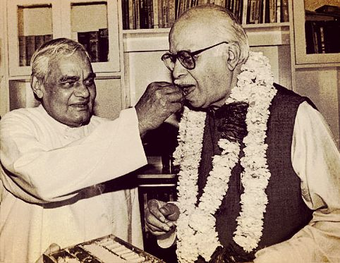 Advani and Vajpayee