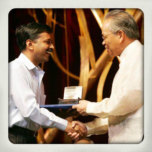 Arvind Kejriwal Magsaysay Award