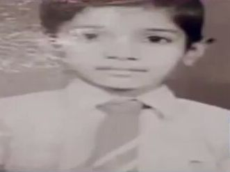 Arvind Kejriwal School days picture from his biography