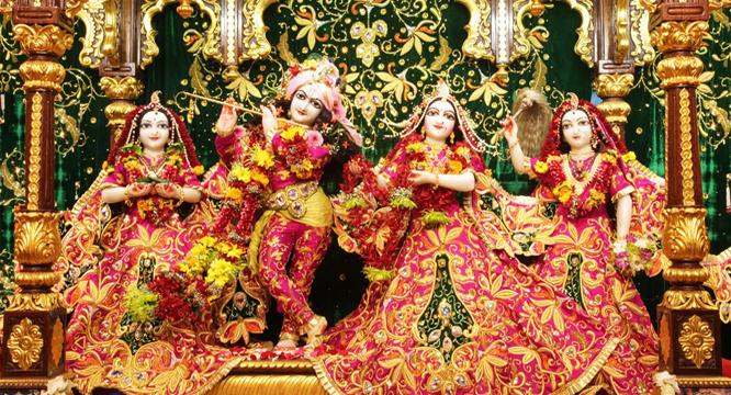 Banke Bihari Temple Vrindavan HD Photos