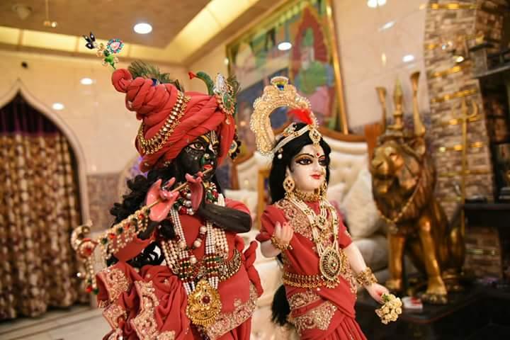 Beautiful image of Radha krishan