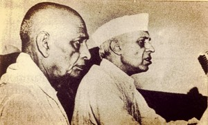 Jawahar lal nehru and Sardar patel - Most Famous Political Jodis of India