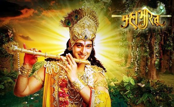 Mahabharat TV Serial Krishna Wallpaper