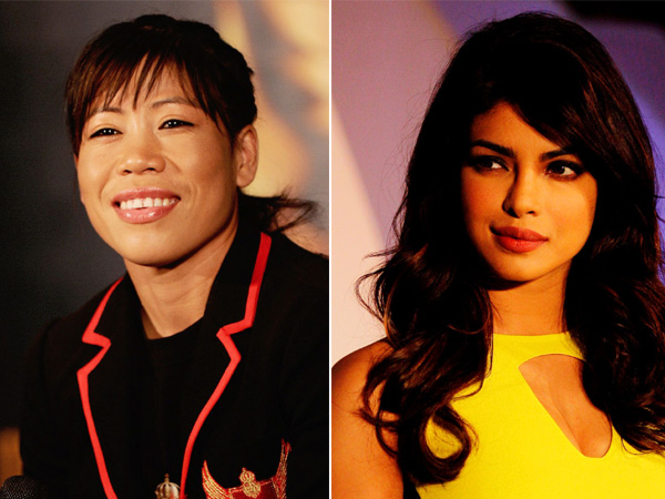 Mary Kom and Priyanka Chopra