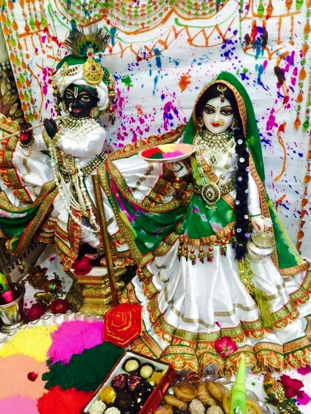 Radha kishana photo with color