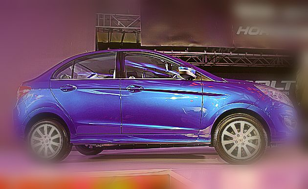 Tata Zest Blue - Stylish Car to Review