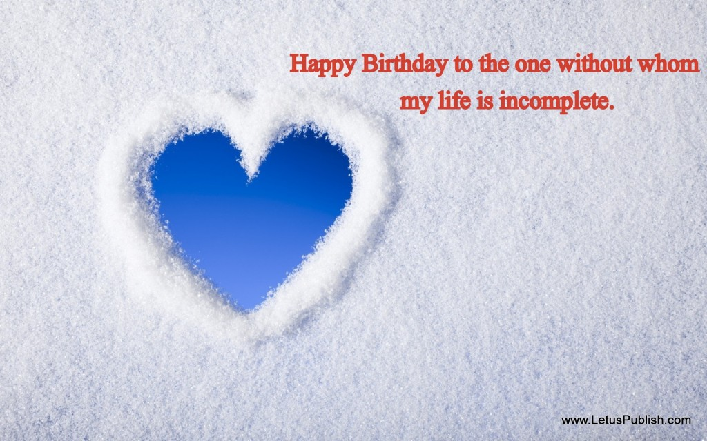 Best romantic birthday wallpaper with quotes