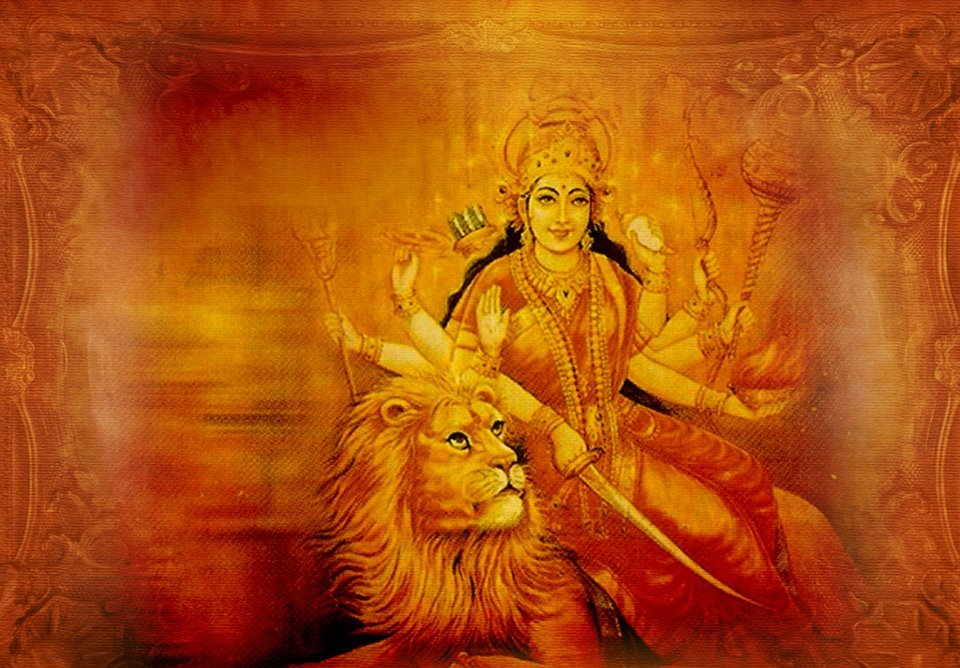 Free Download wallpaper for desktop of Laxmi Maa