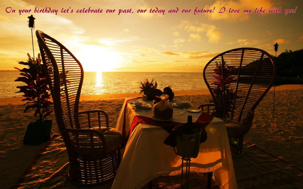Most Romantic Birthday Quotes for couple