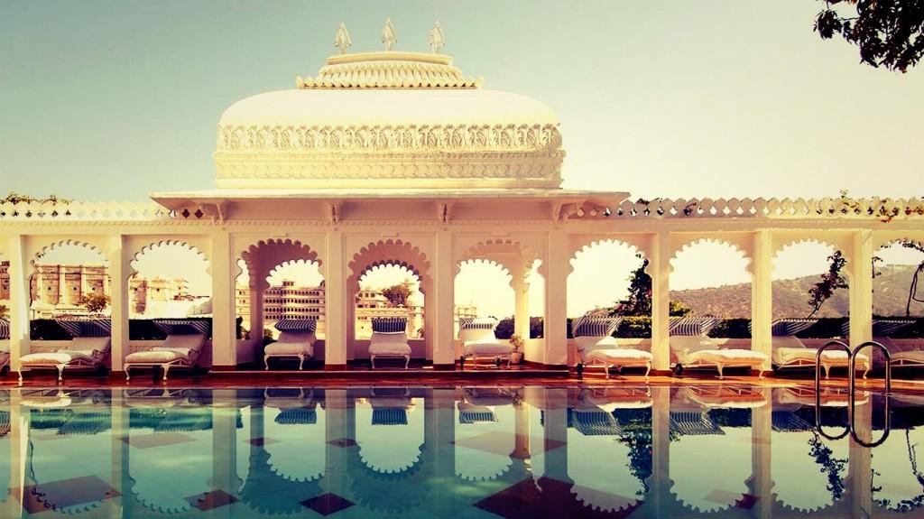 Taj Lake Palace Udaipur in India