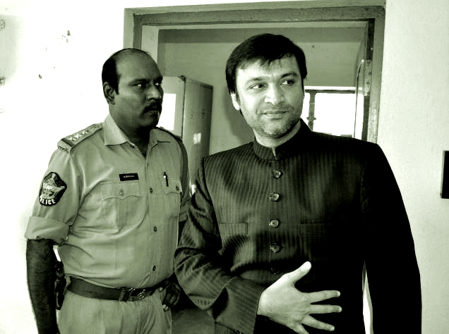 owaisi in jail