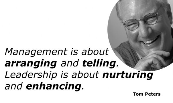 Management quotes my Tom Peters