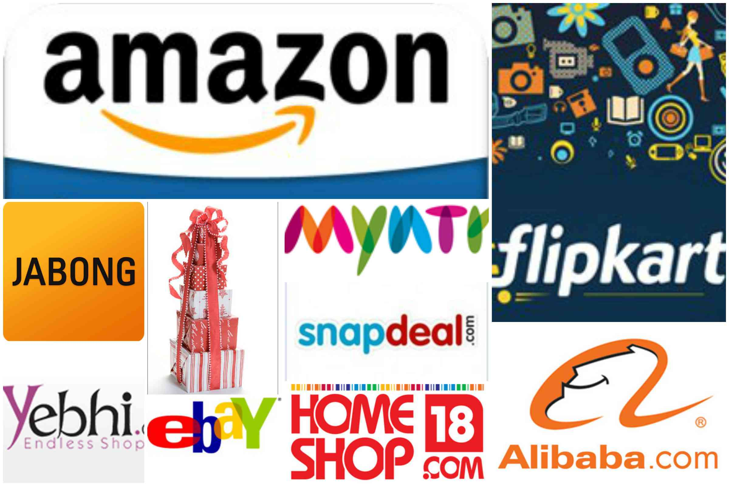 Top 10 online shopping sites in india let us publish for Online shopping websites list
