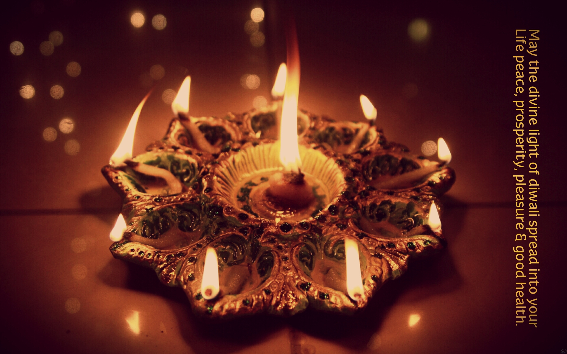 Beautiful diwali lights wallpapers free - Happy Diwali Images with Quotes