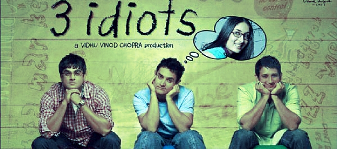 Aamir Khan hit and flop movies list - 3 Idiots Hit