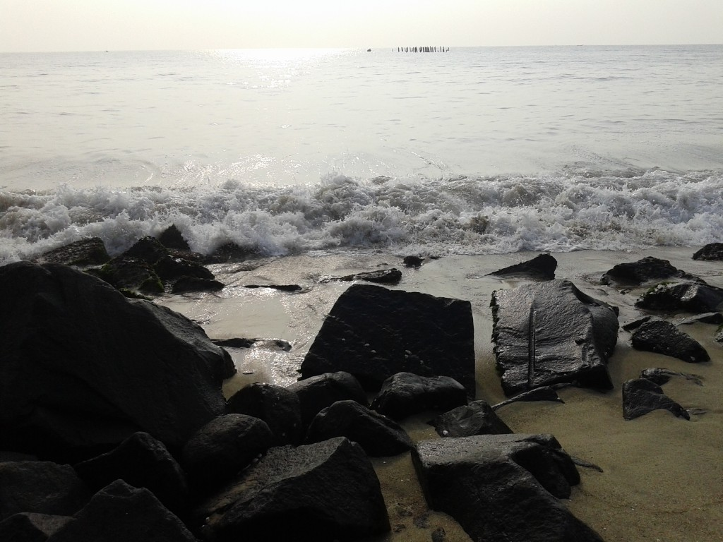 Beautiful Early Morning Picuture from RockBeach Pondycherry