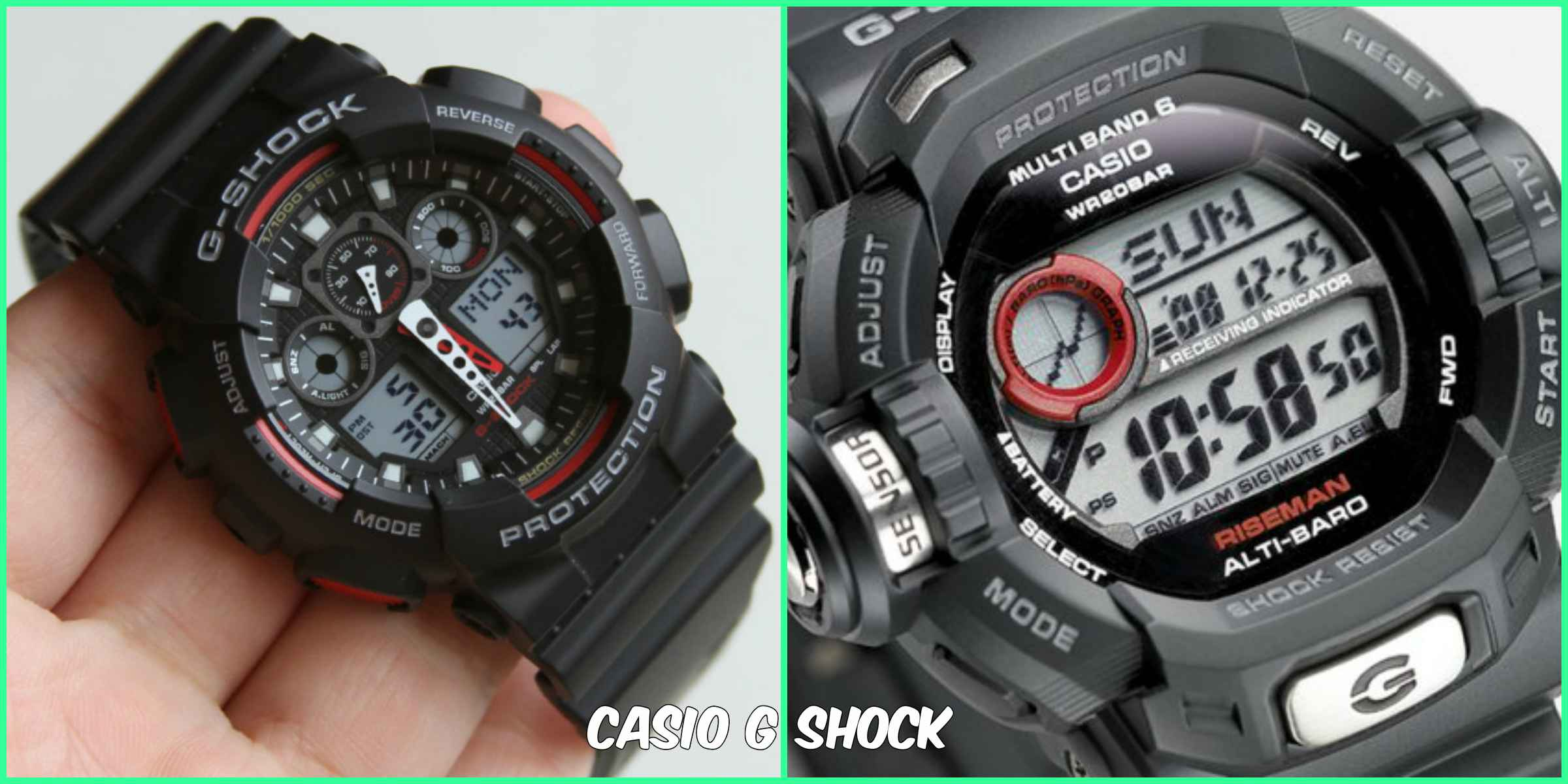 Casio G Shock Watch Ga 100 1a1d Fashion Sports Watch C9 - Relgios