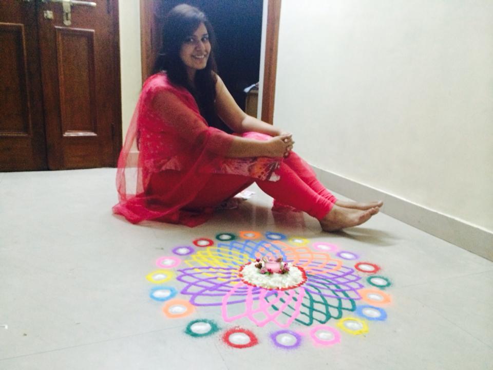 ColorFul RANGOLI BY Hency