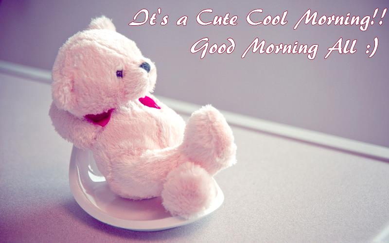 Cute Teddy Good Morning Images Free Download