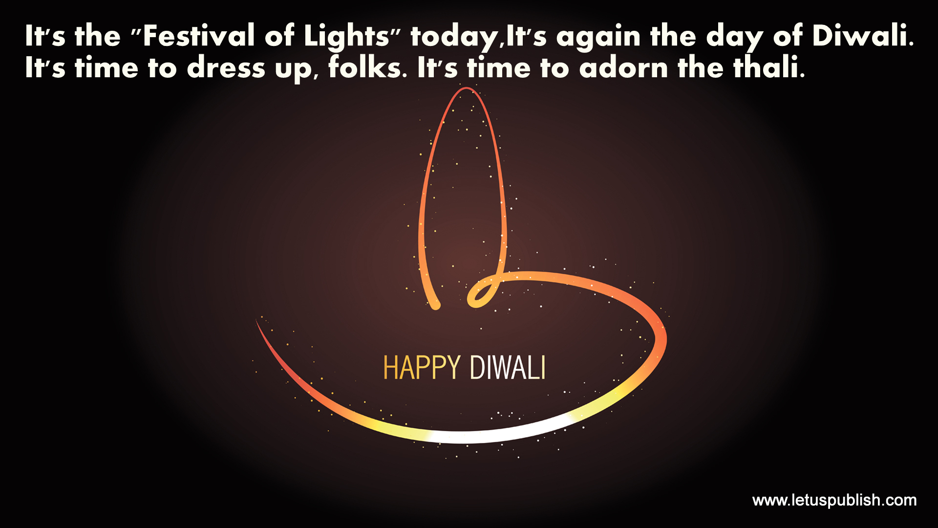 Download happy diwali wallpaper with quotes