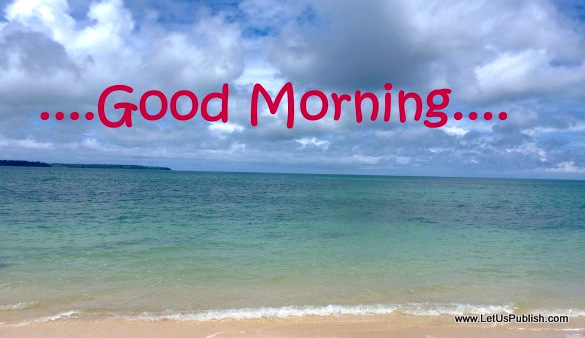 Good Morning Winter Sea 2014 : Good morning wallpapers free download
