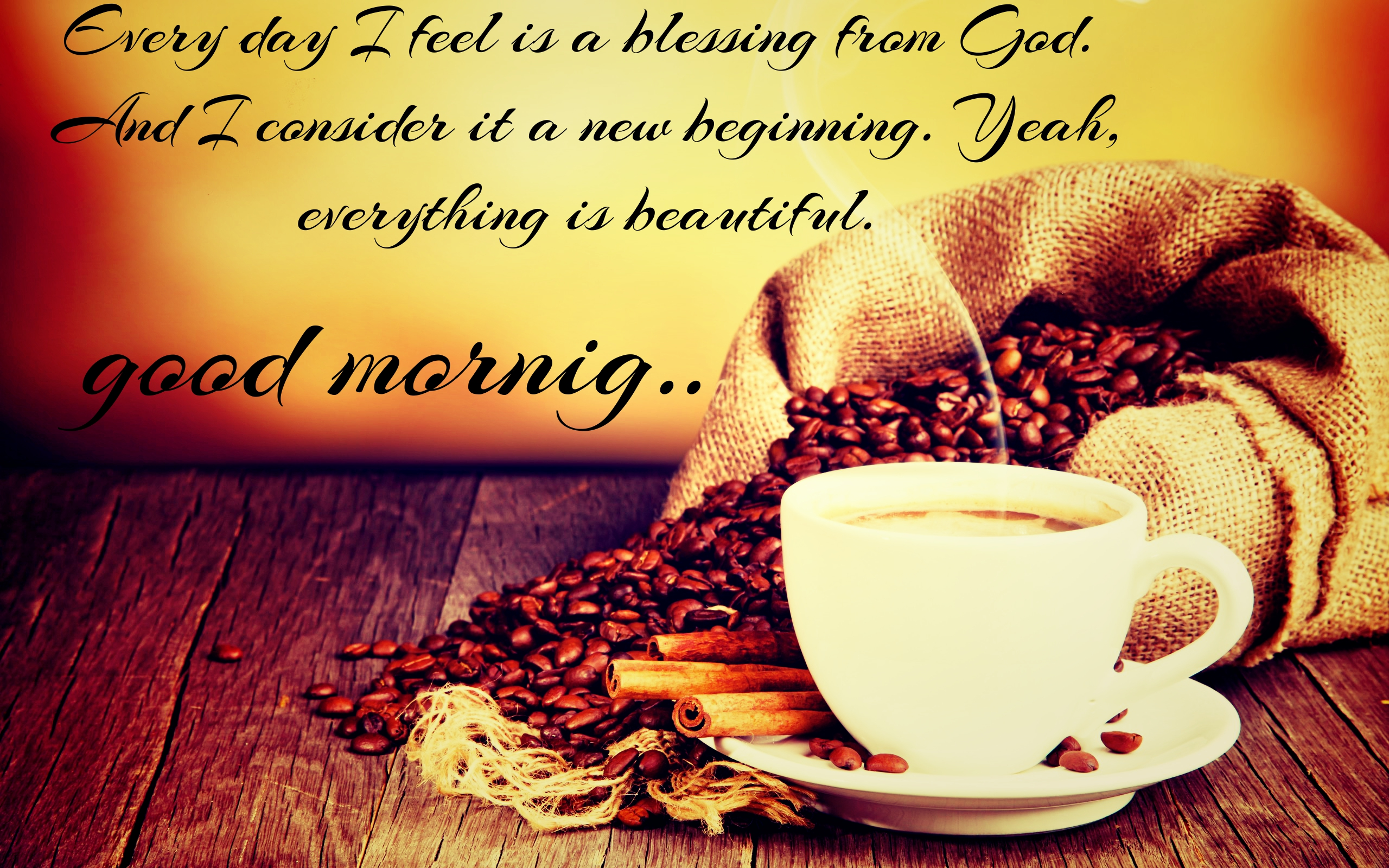 Good Morning Coffee HD Quotes