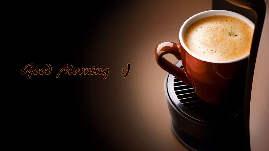Good Morning Coffee Wallpapers for free