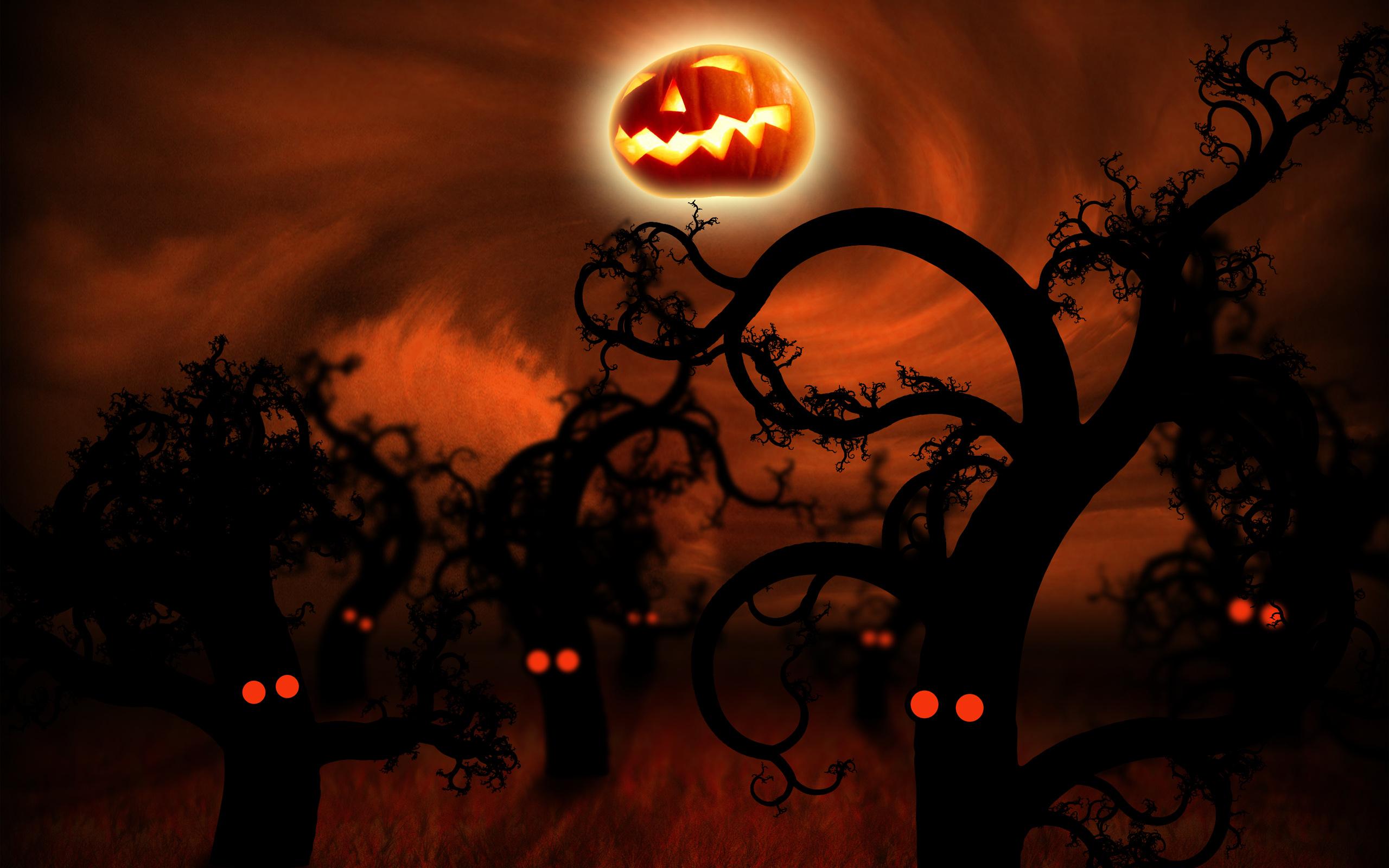 HD Halloween wallpapers for Desktops and Smart phones