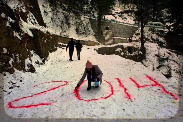 New year at shimla