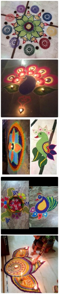 Rangoli Designs By Priya