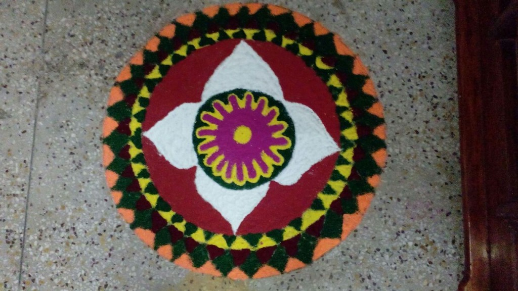 Rangoli Designs for Festival Season created by Poonam and Team