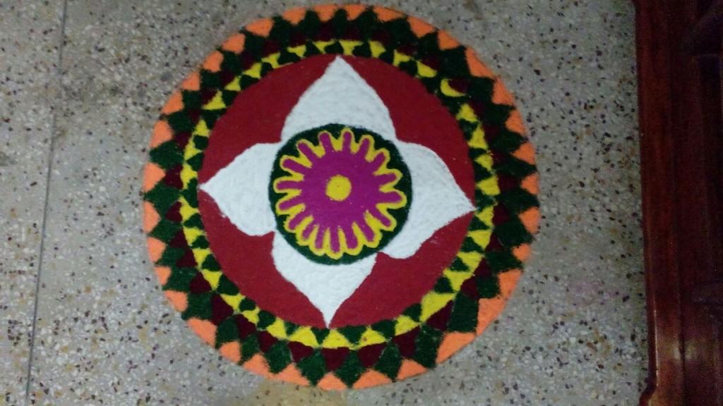 Rangoli Designs for Festival Season created by Poonam and Team