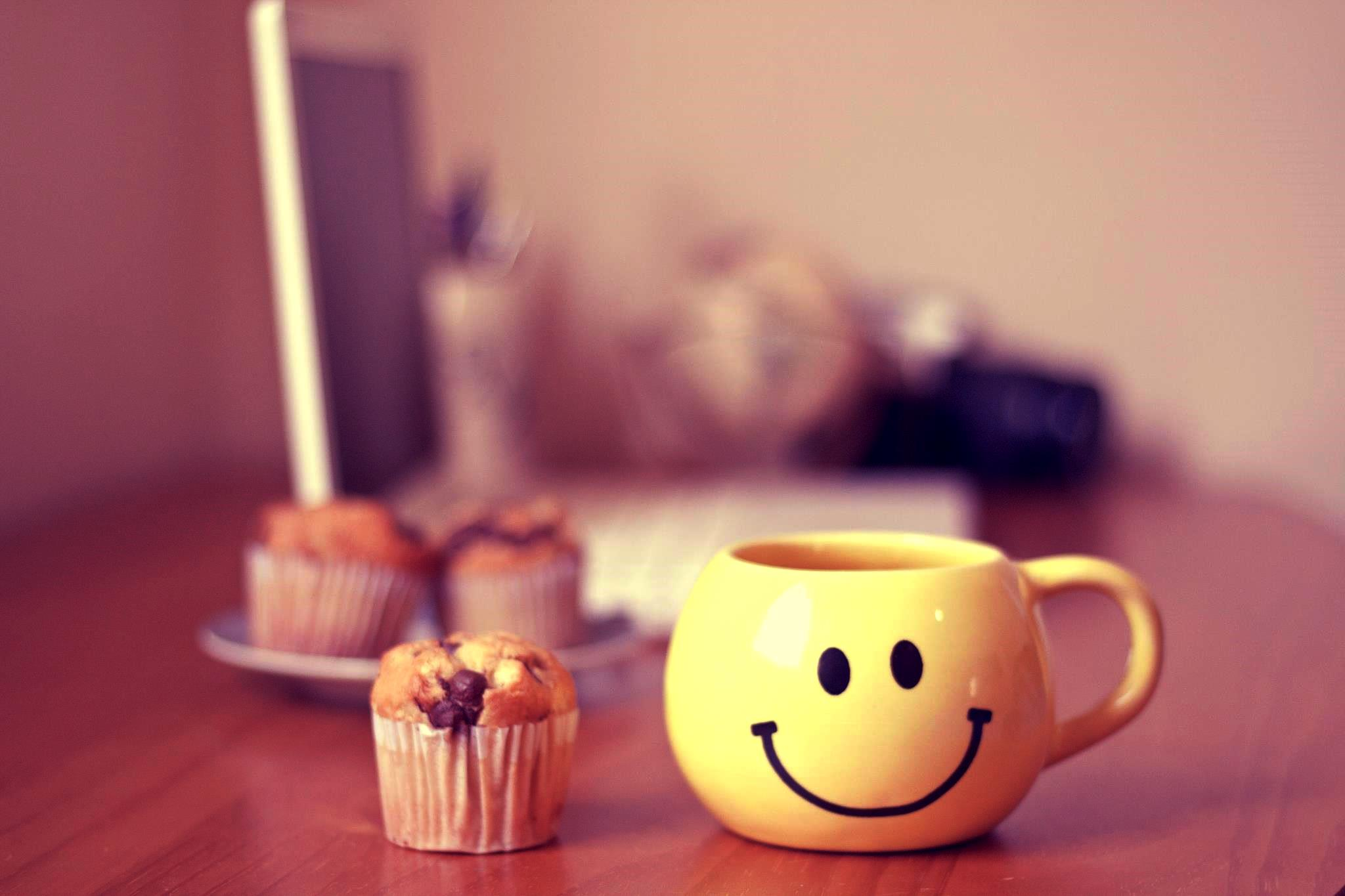 Smiley Good Morning HD Wallpaper