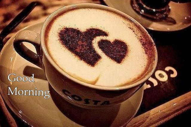 Start your Lovely day with a love Costa Coffee _ Good Morning Pictures