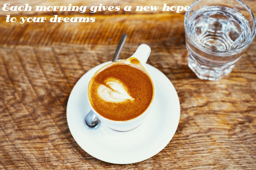 Morning Coffee HD Wallpaper