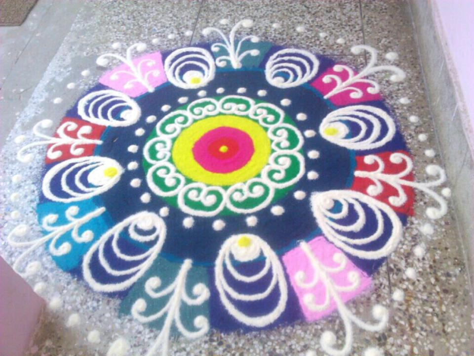 rangoli beautiful pic