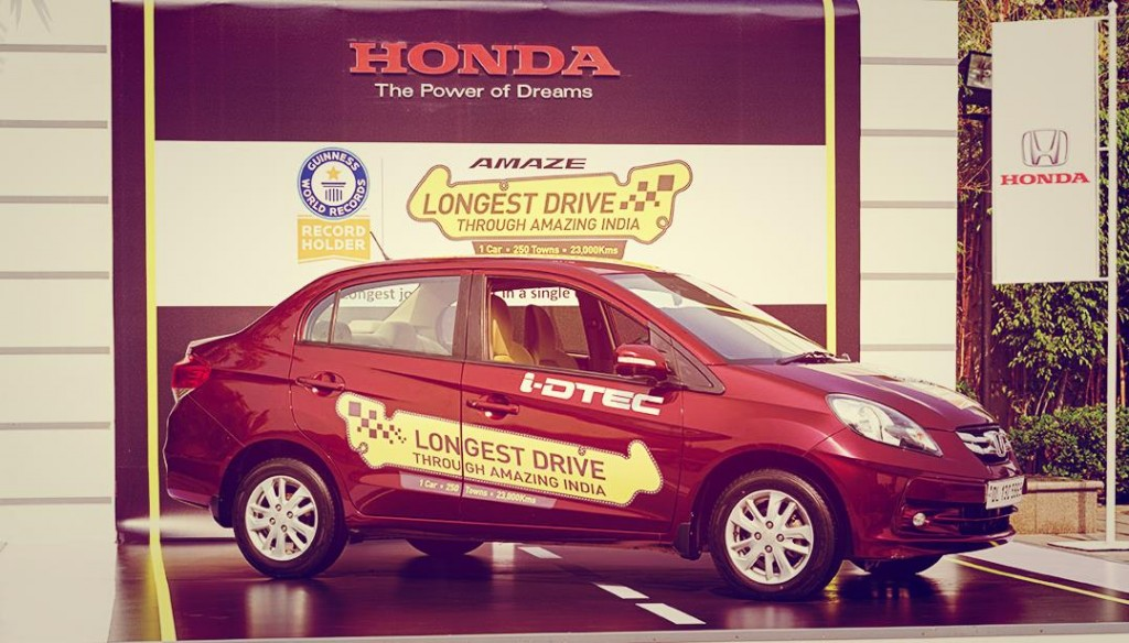 Honda Amaze - This Car Created World Record