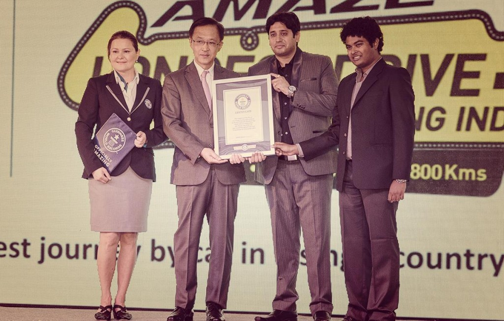 Award Handover Ceremony - Honda Car India