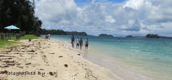 Beautiful Wandoor beach Port Blair Pictures