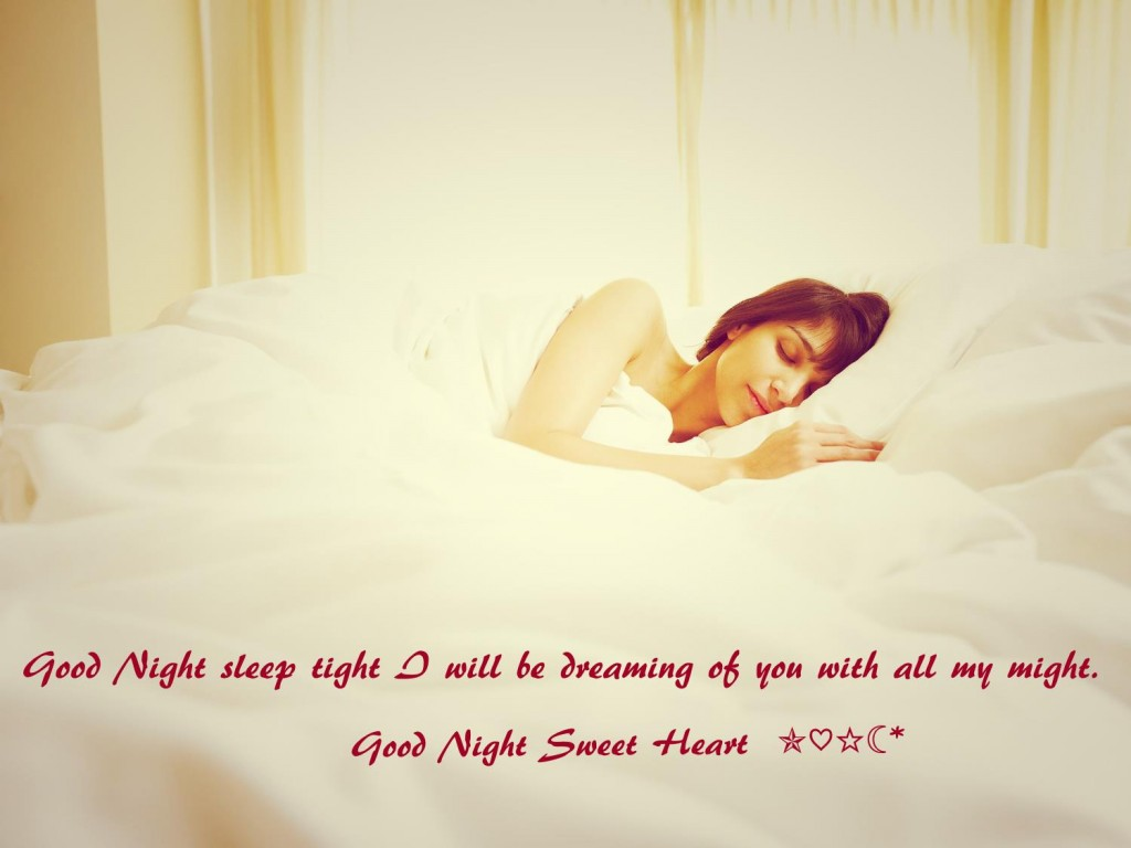 Good Night Love Romantic Quotes Images