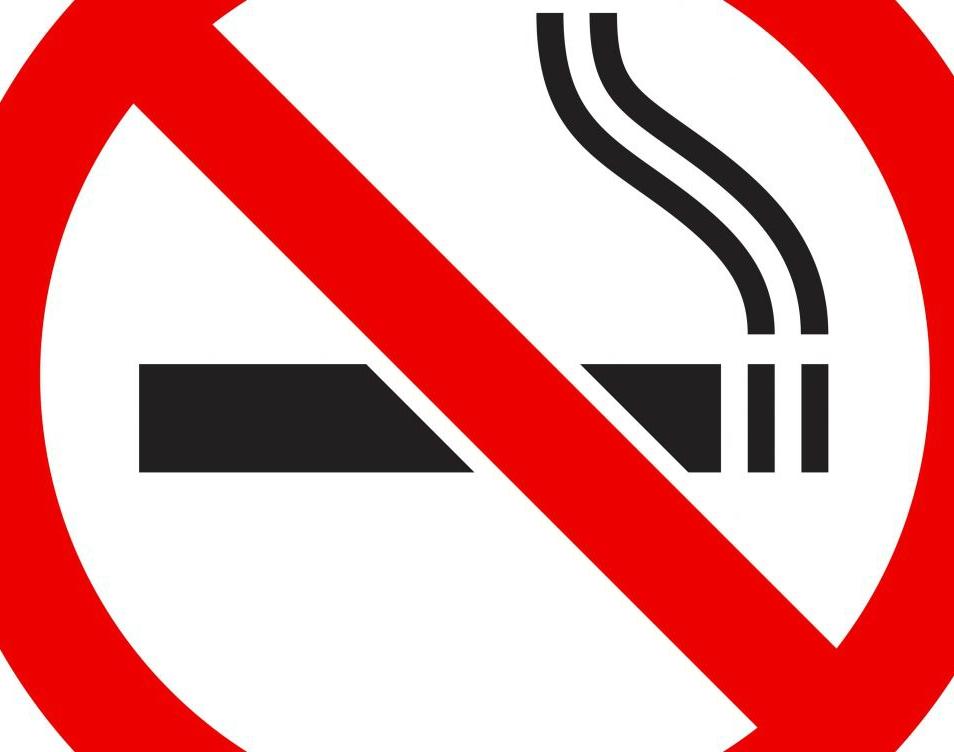No smoking for pink lips