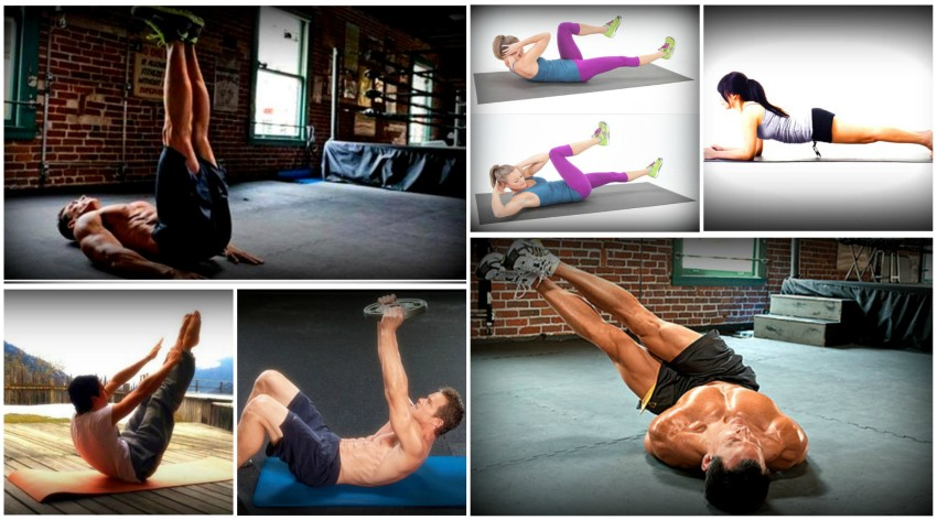 Six best exercises to get 6 pack abs