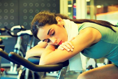 rest in gym