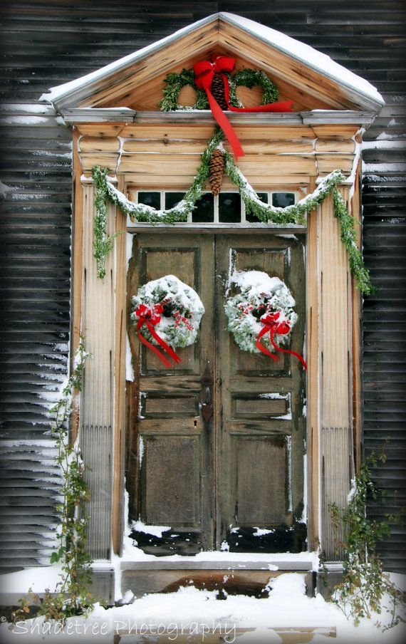 Christmas decoration Ideas Doors and Windows