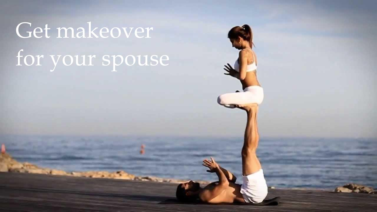 Get makeover for your spouse