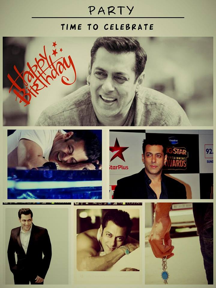 Happy Birthday Salman Khan