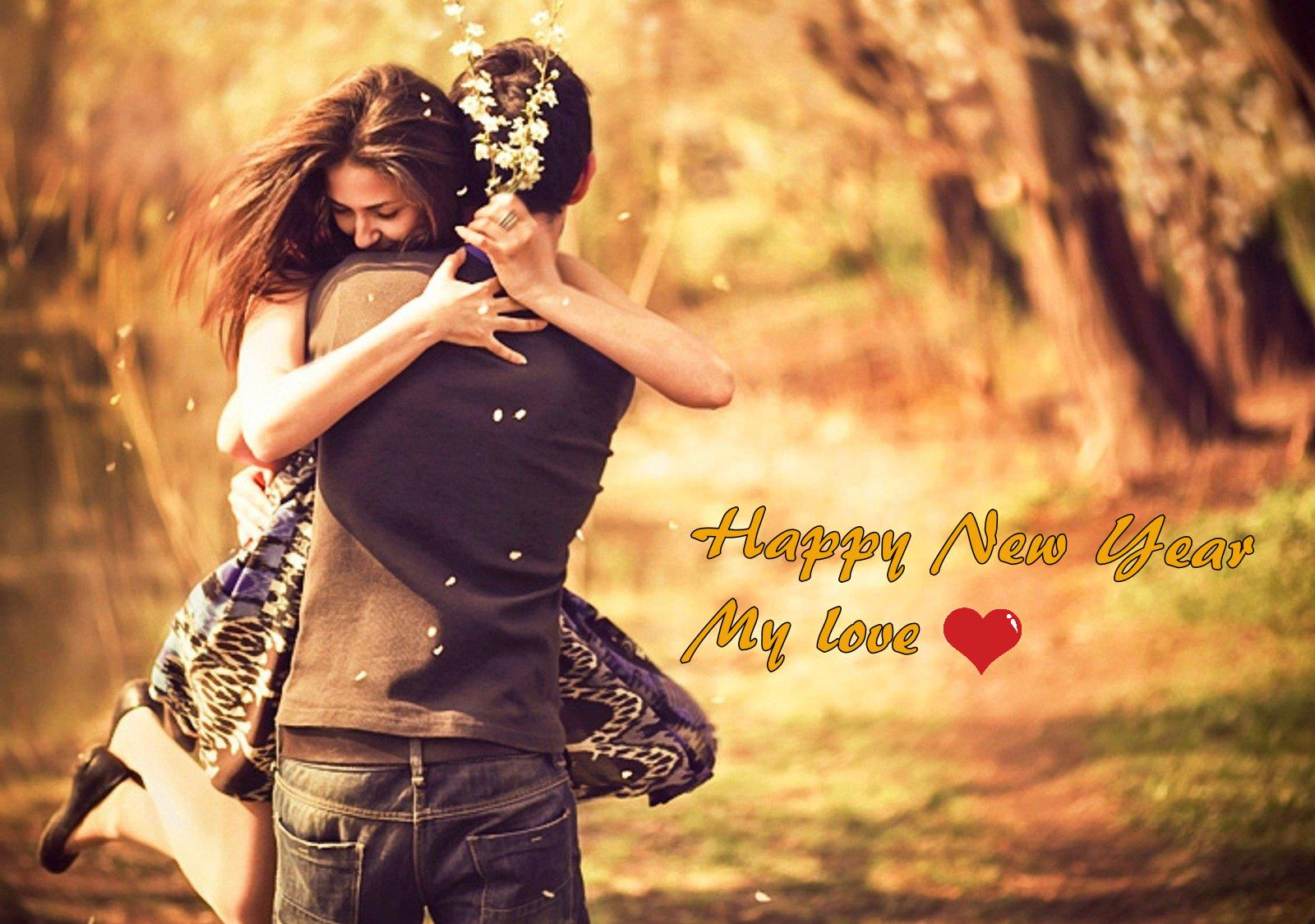 Happy New Year 2018 Couple Wallpaper