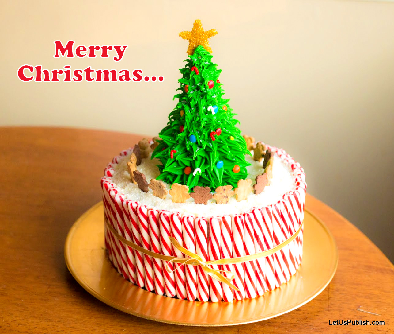 merry-christmas-2019-wallpaper , HD Xmas Cake Wallpaper