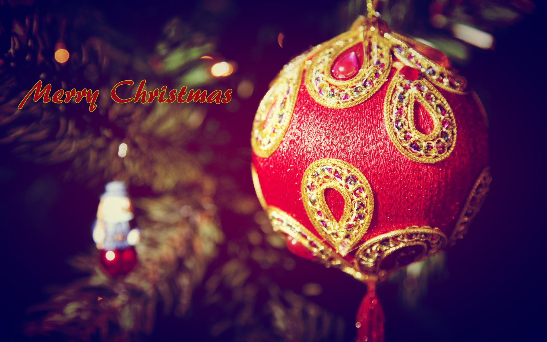 Marry Christmas HD wallpaper for download in laptop and desktop