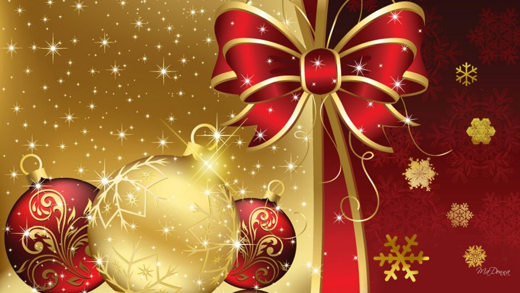 Christmas Star Decoration Wallpaper